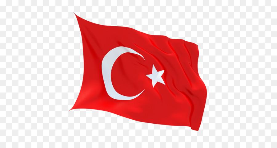 Transparent Turkey Flag