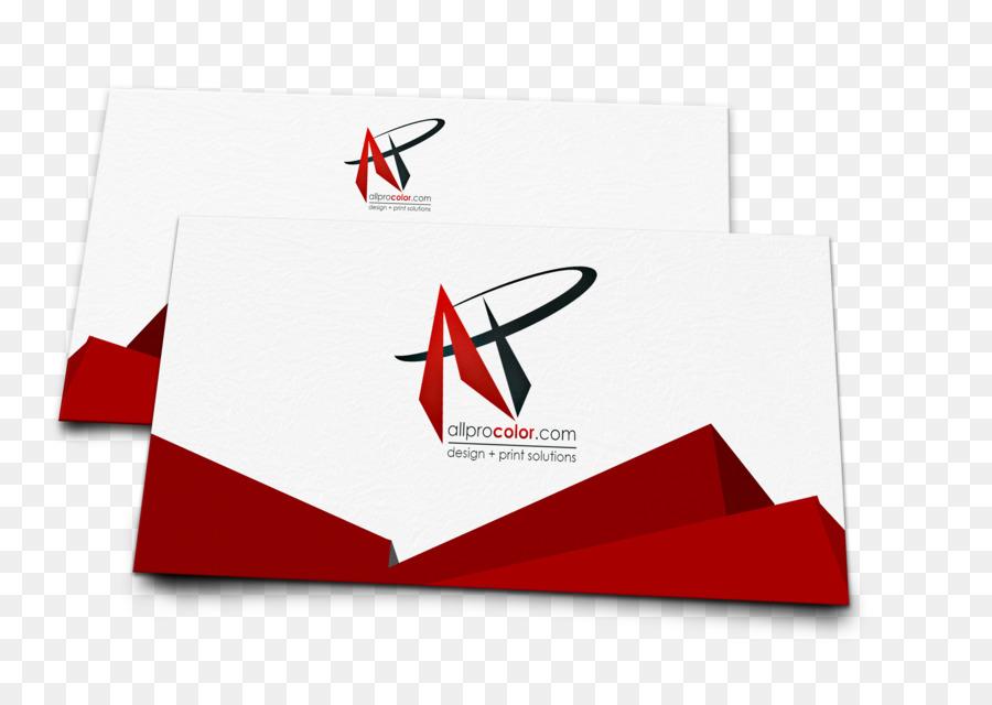 Kraftpapier Visitenkarten Drucken Logo Enterprise Color