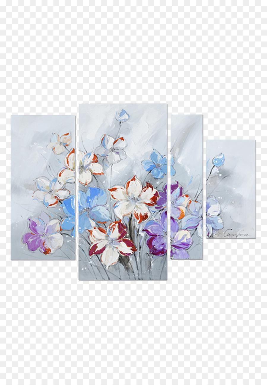 Abstrakte Malerei Blaue Abstrakte Kunst Aquarell Kirschbluten Png Herunterladen 850 1300 Kostenlos Transparent Blau Png Herunterladen