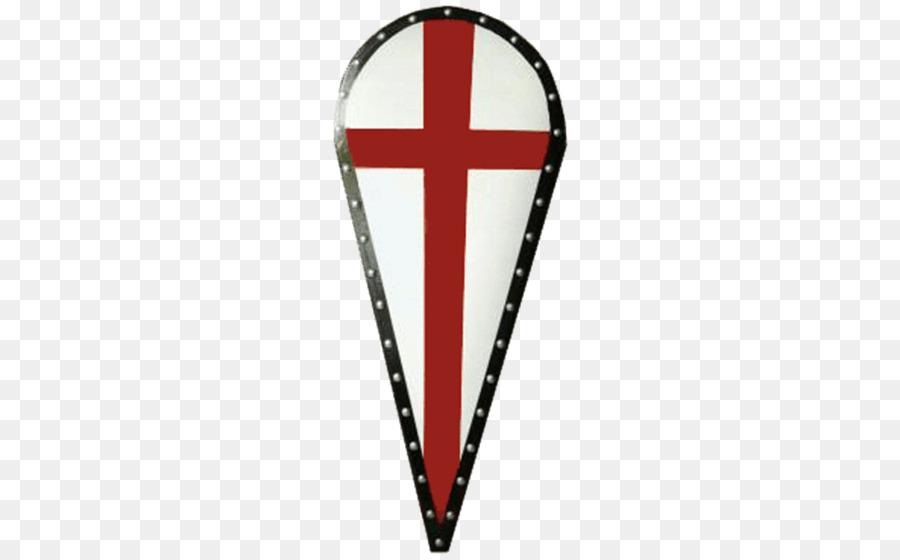 Ritterschild Kreuzritter Templerschild Schild Kreuz Wappen Holzschild Crusader