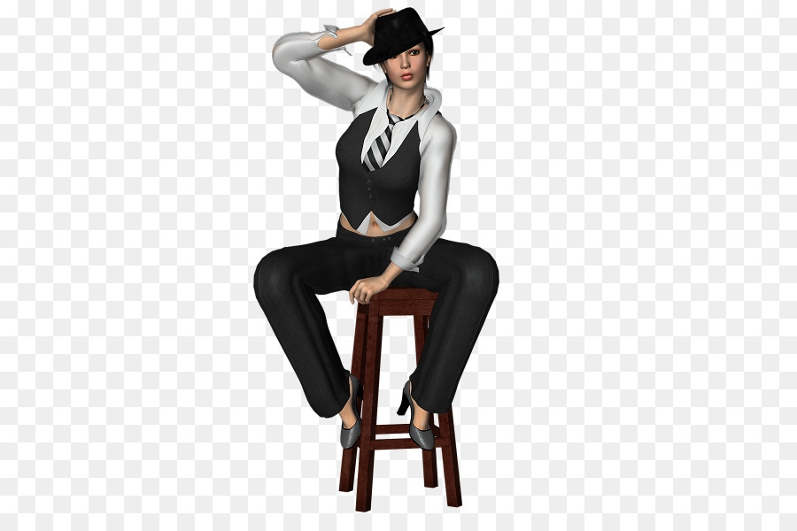 600 Frau 600 Sitzende Stuhl png herunterladen Frau NZwO08nkXP