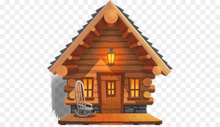 Картинка для детей деревянный домик
