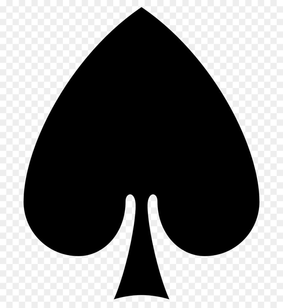 transparent spade card symbol  Hearts Background png download - 7*7 - Free Transparent ...