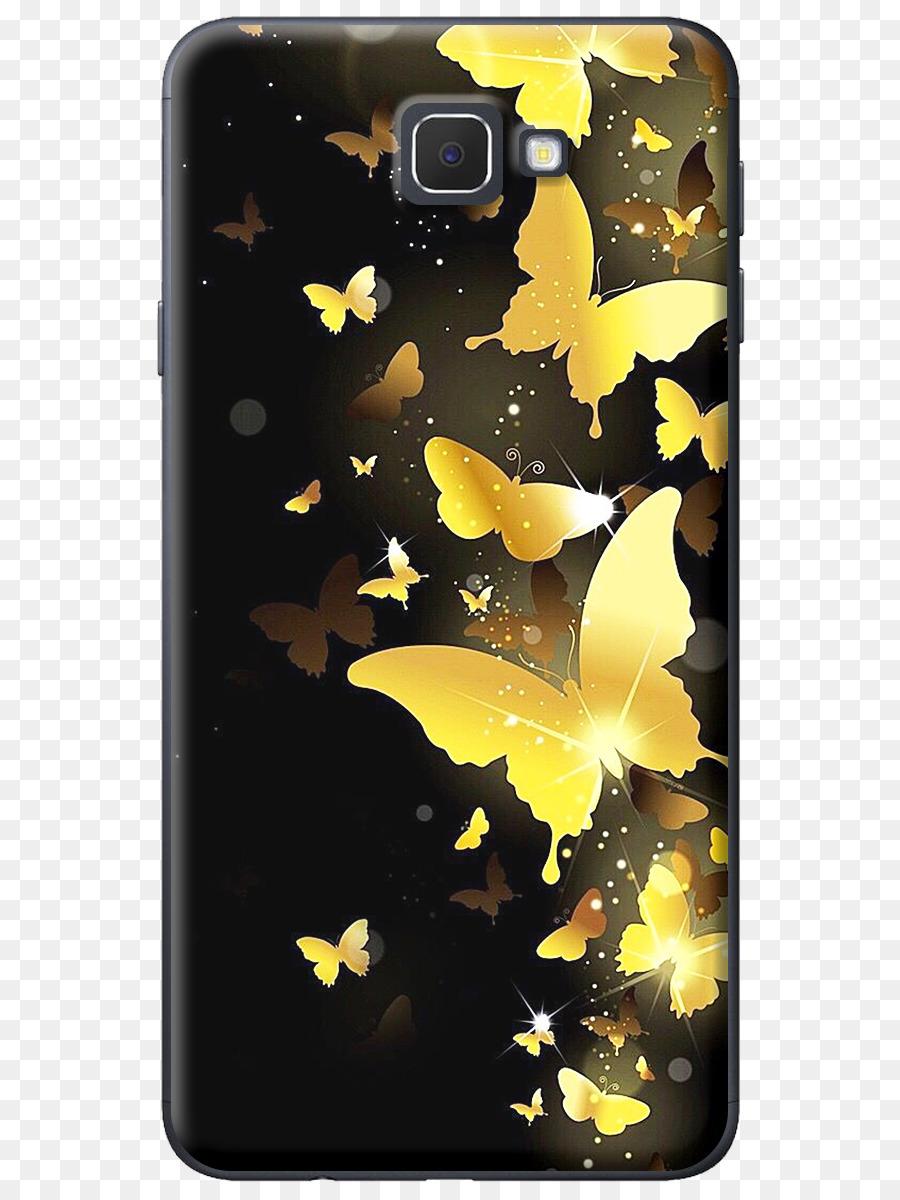 Schmetterling Desktop Wallpaper Gold Lock Bildschirm Farbe