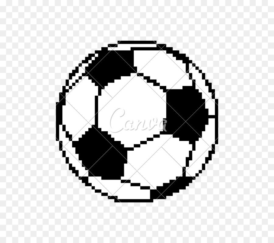 Fussball Pixel Kunst Zeichnen Clip Art Ball Png