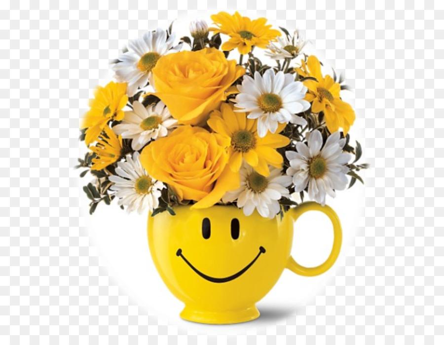 Blumenstrauß smiley mit Geburtstag Bilder