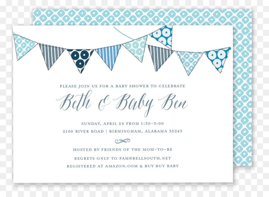 Birthday Party Invitation Png