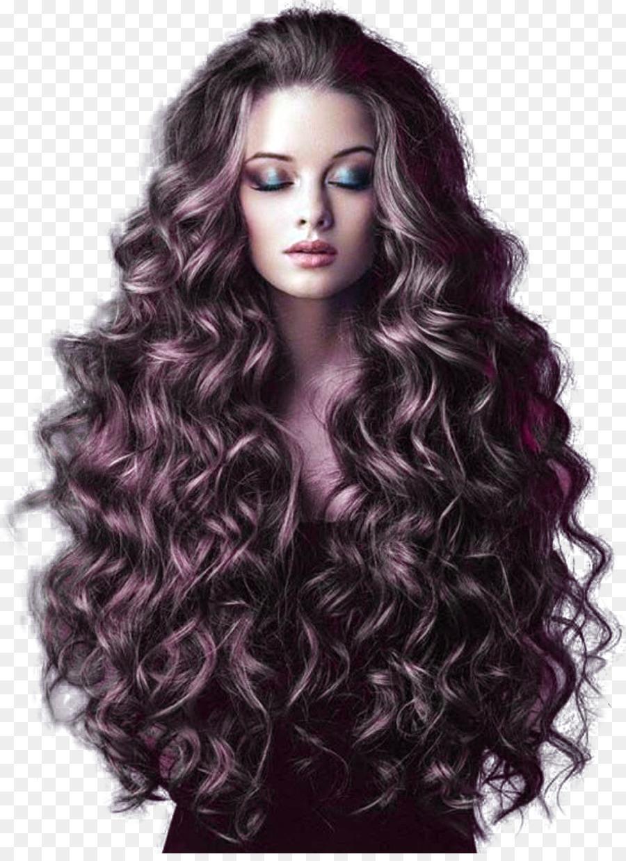 Frisur Lange Haare Pferdeschwanz Mode Lange Lockige Haare Png