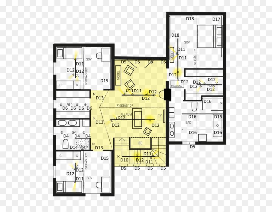 Badezimmer-Beleuchtung Technische Zeichnung, Treppe, Tisch ...