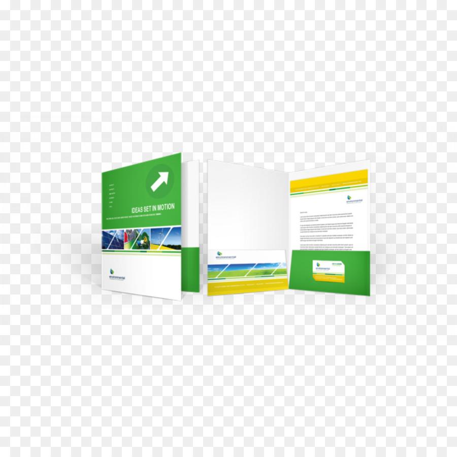 Papier Datei Ordner Präsentationsmappe Drucken Von