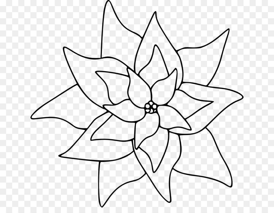 Free Printable Poinsettia Coloring Pages For Kids | Christmas tree ... | 700x900