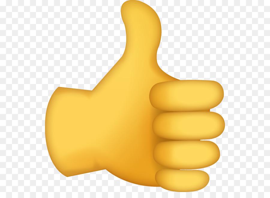 Ok Emoji png download - 600*641 - Free Transparent Thumb Signal ...