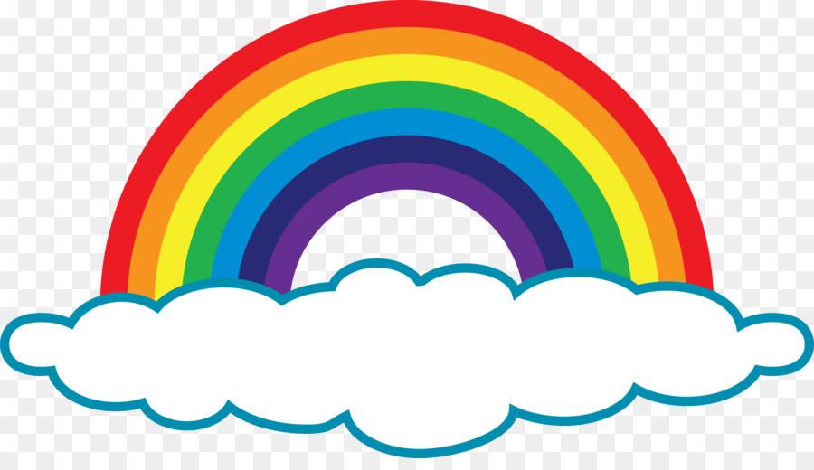 rainbow cloud clip art  regenbogen png herunterladen