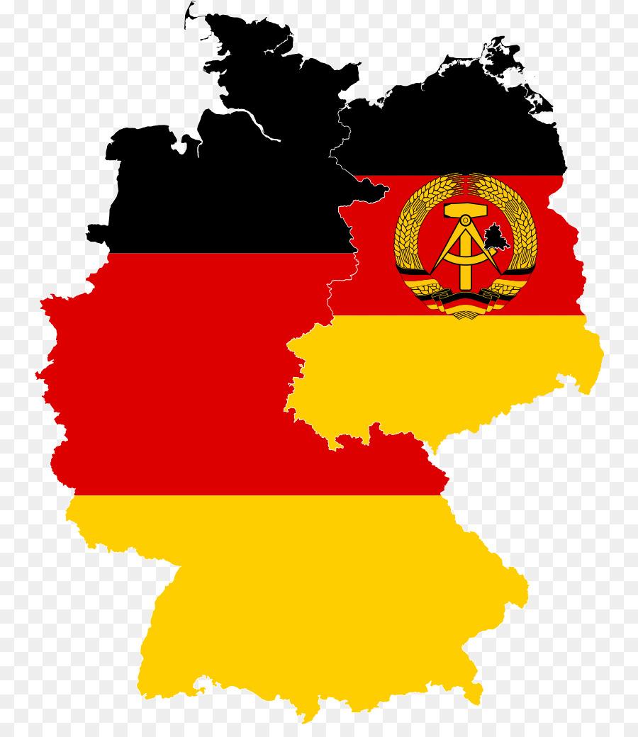 west ost deutschland karte West Deutschland Ost Deutschland Flagge, Deutschland Karte