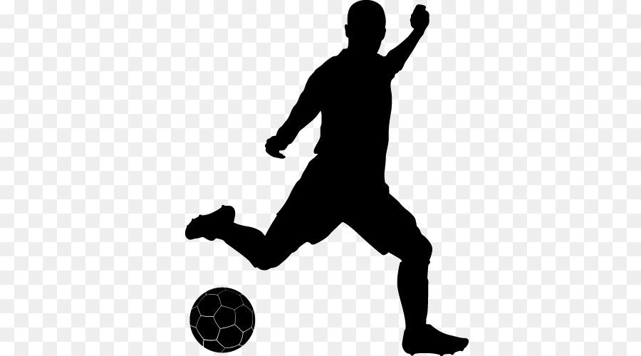 Fussball Spieler Silhouette Sport Clip Art Fussball Png
