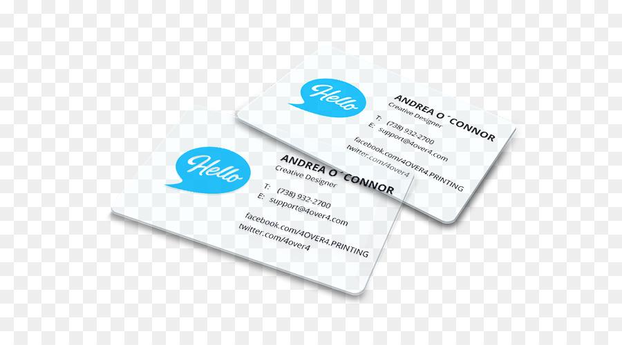 Papier Visitenkarten Drucken Kunststoff Visitenkarte