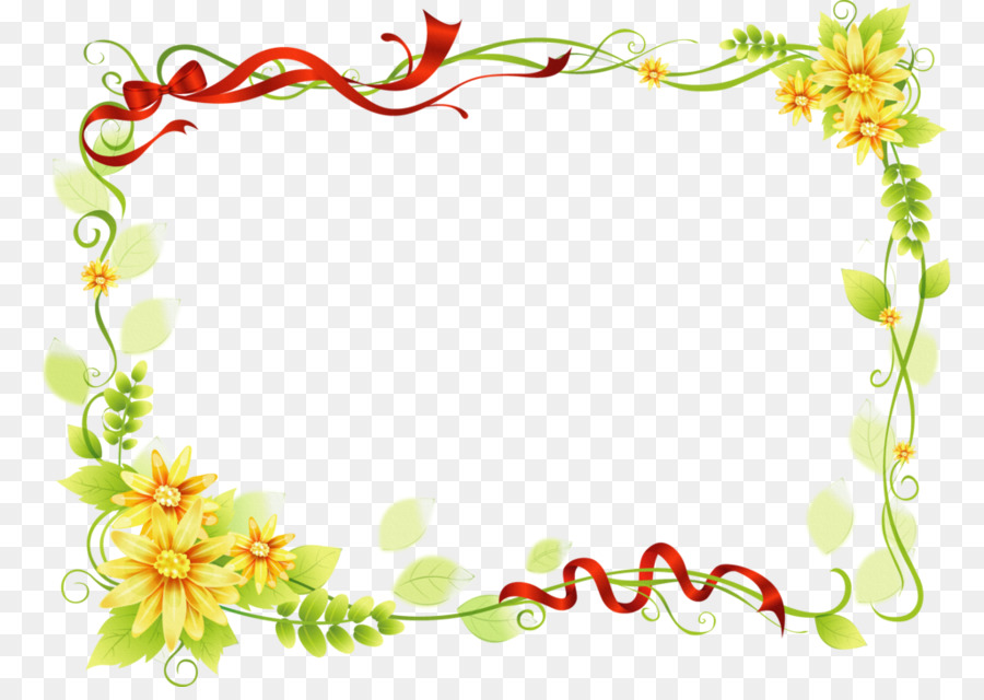 Floral Wedding Invitation Background Png Download 1024715
