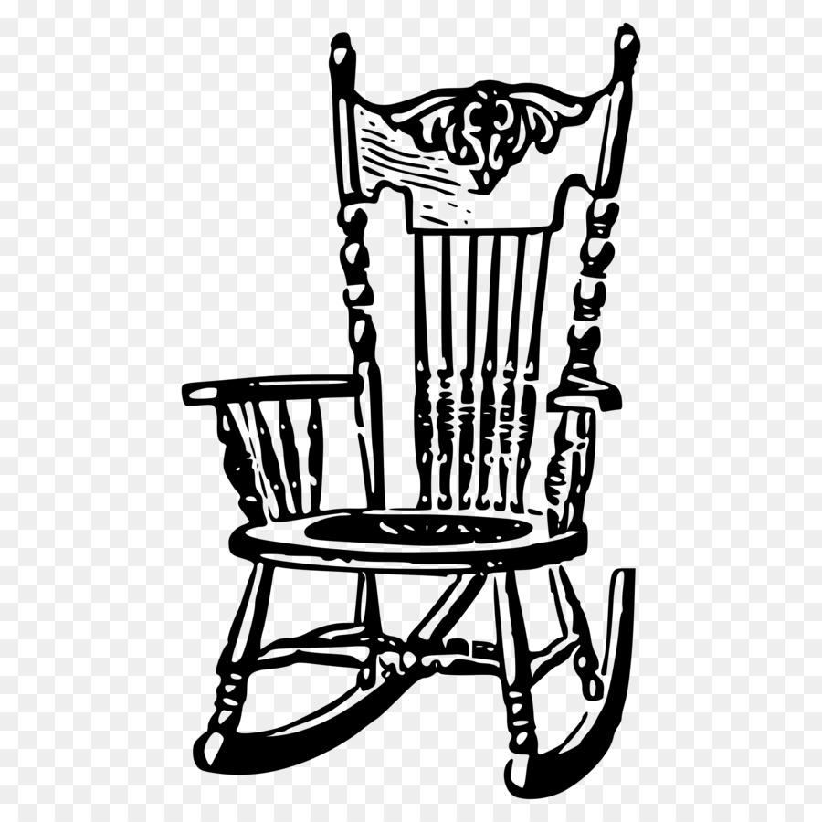 Rocking Chairs Adirondack Chair Clipart Stuhl Png