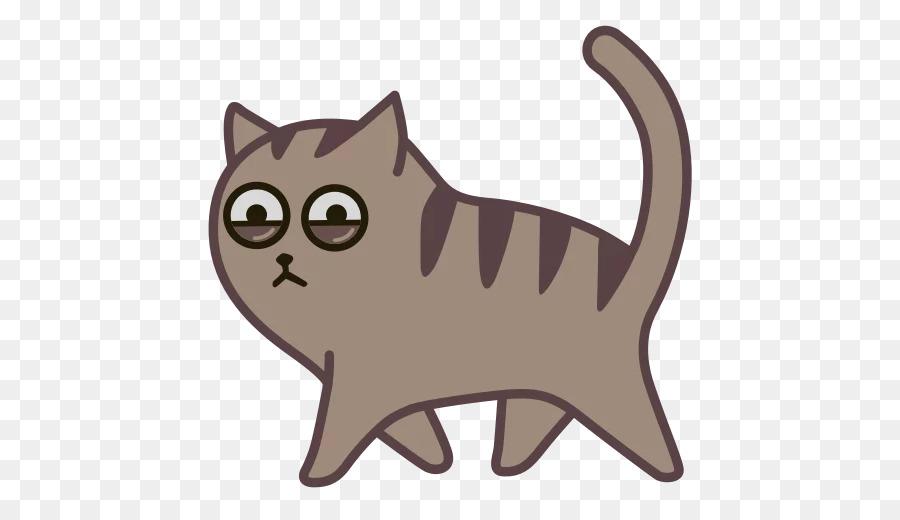 Картинка кота стикер