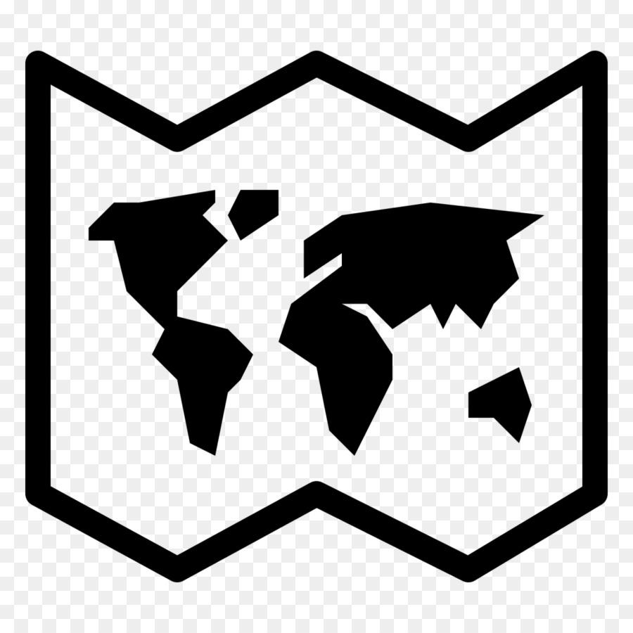 World map Globe Computer Icons - Weltkarte png herunterladen ...