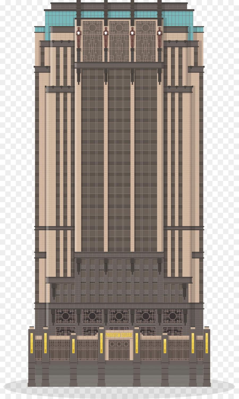 Parkview Square Architektur Fassade Art Deco Haus Png