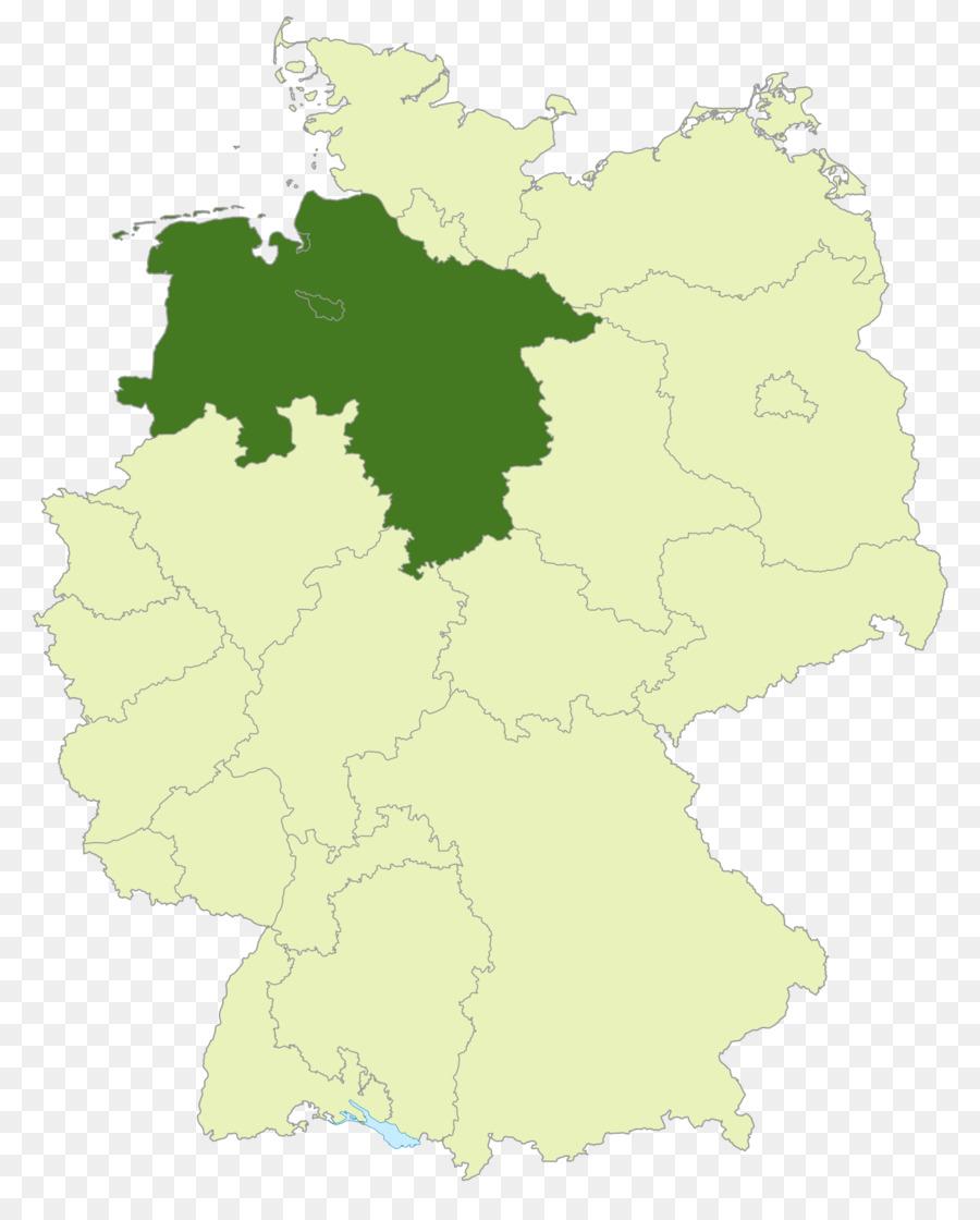 Niedersachsen Staaten Von Deutschland Deutsches Reich Leere