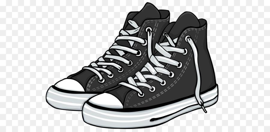 Converse Sneaker Schuh schwarze Turnschuhe png