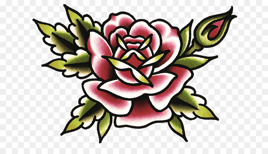 Fiori Old School.Old School Rose Png Download 715 501 Free Transparent Flash