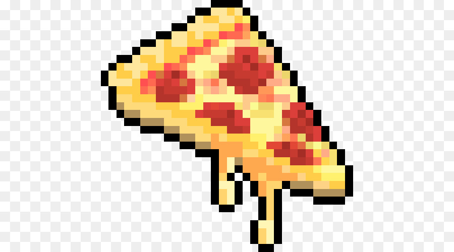 Pizza Pixel Art Png Download 500500 Free Transparent