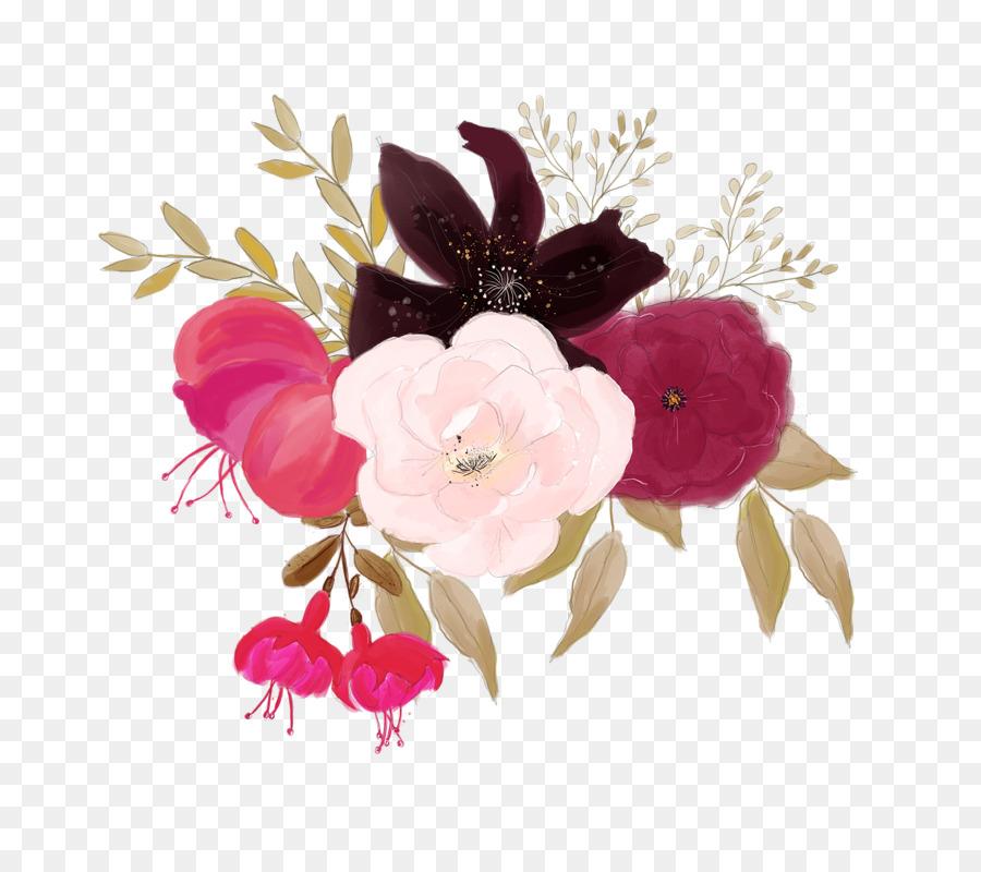 Floral Wedding Invitation Background Png Download 800800