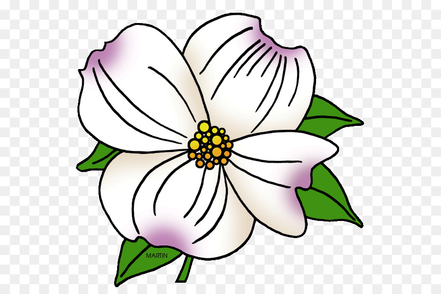 Dogwood Flower Clip Art