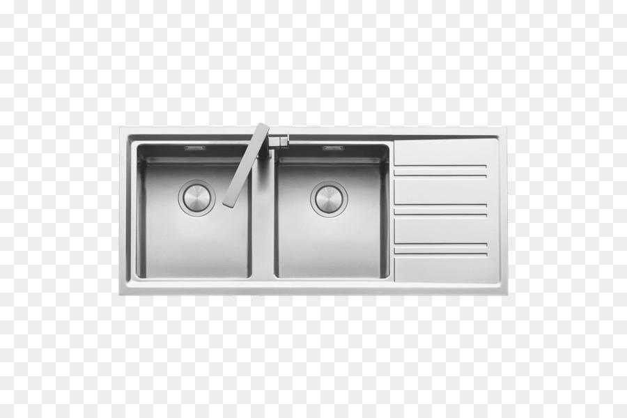 Spülbecken Küche Edelstahl Mixer - Waschbecken png ...