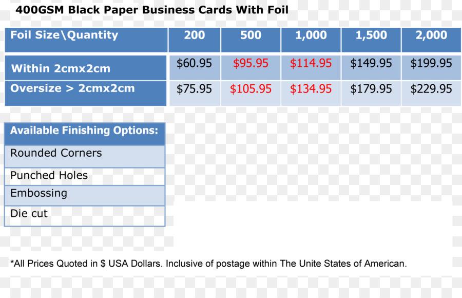 Standard Papier Größe Visitenkarten Visitenkarte Druck