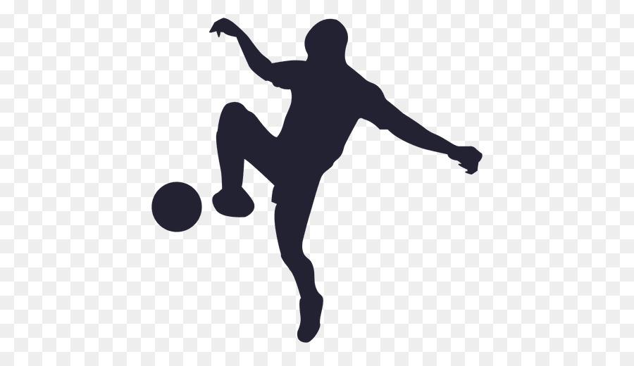 Silhouette Fussball Spieler Clipart Fussball Png