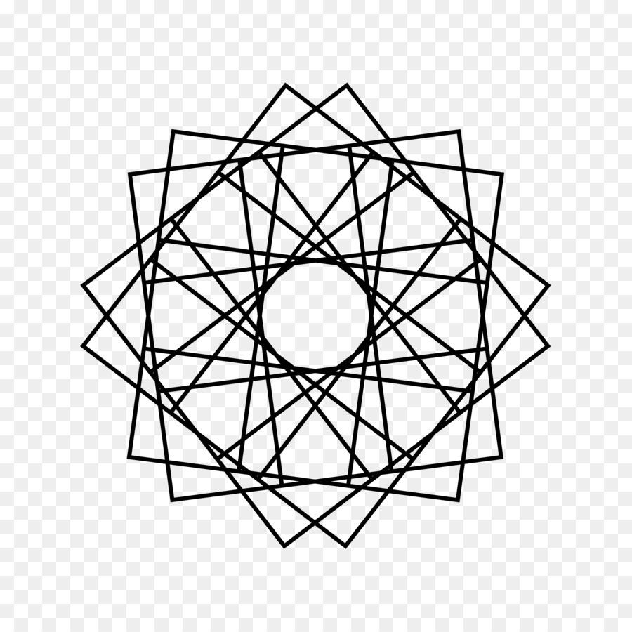 Disegni Geometrici Bianco E Nero geometria libro da colorare per il disegno di forme