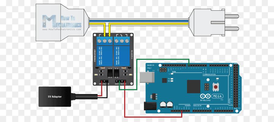 Arduino Rel U00e8 Cablaggio Di Circuiti Elettronici