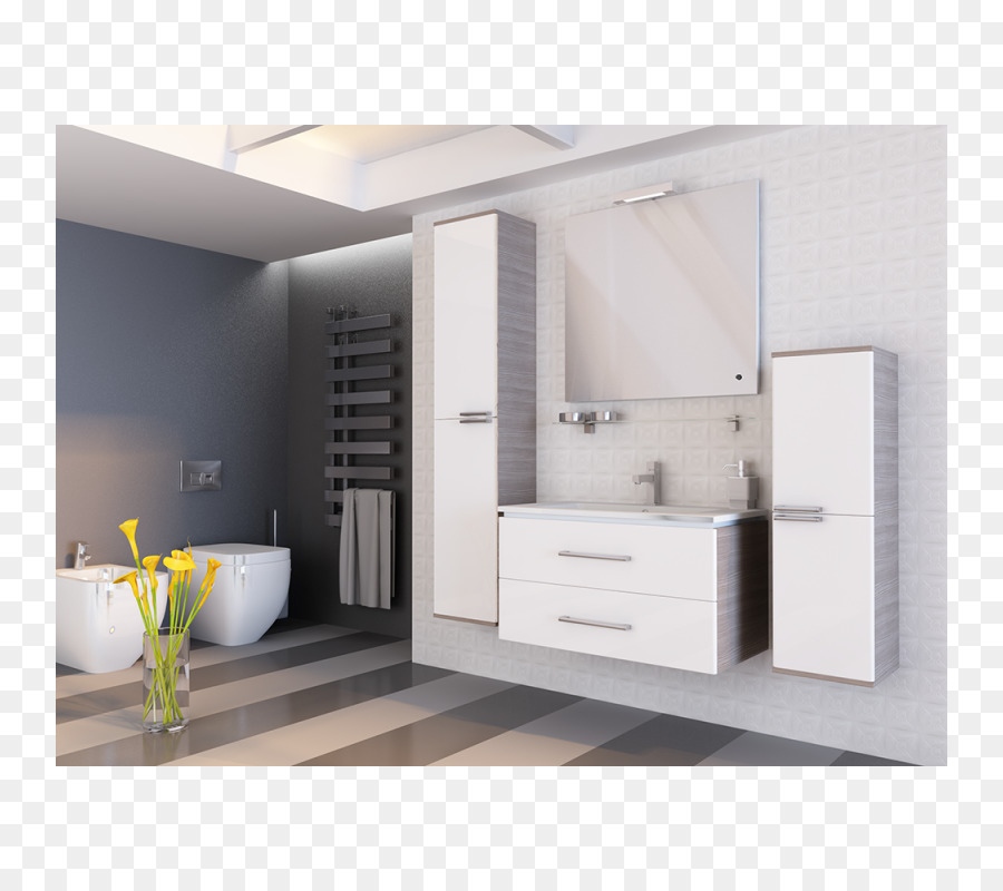 Badezimmer Schrank Handtuch Schränke Möbel - Waschbecken png ...