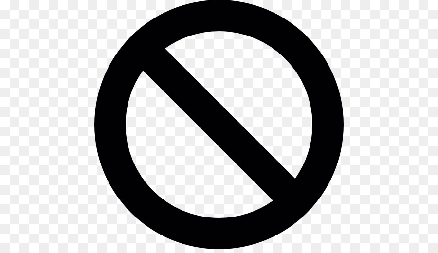 No Symbol png download - 512*512 - Free Transparent Icon Design png Download. - CleanPNG / KissPNG