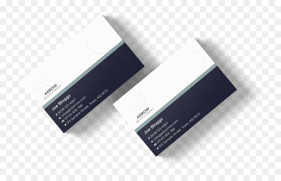 Papier Präge Visitenkarten Drucken Folienprägung Marke