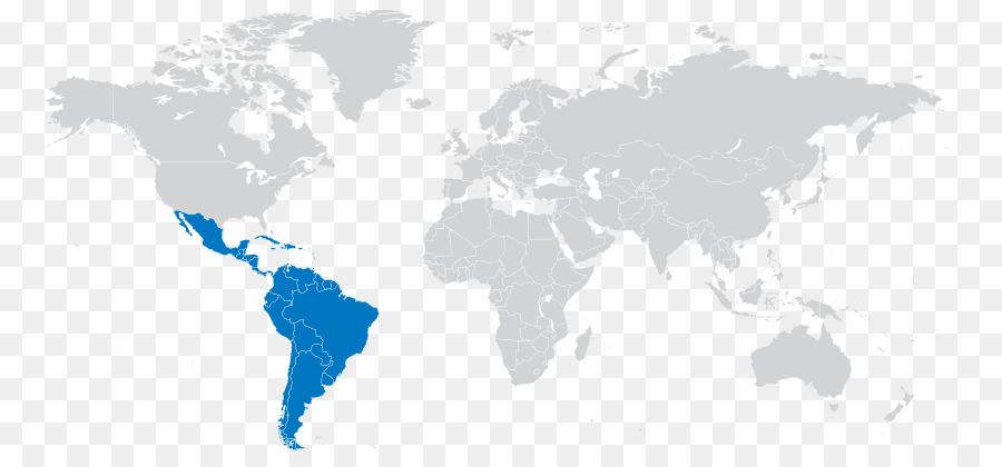 Weltkarte Globe Lateinamerika Anzeigen Png Herunterladen 823