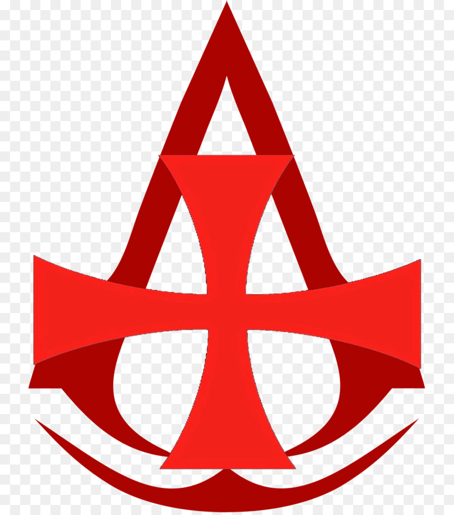 transparent background red assassins creed logo