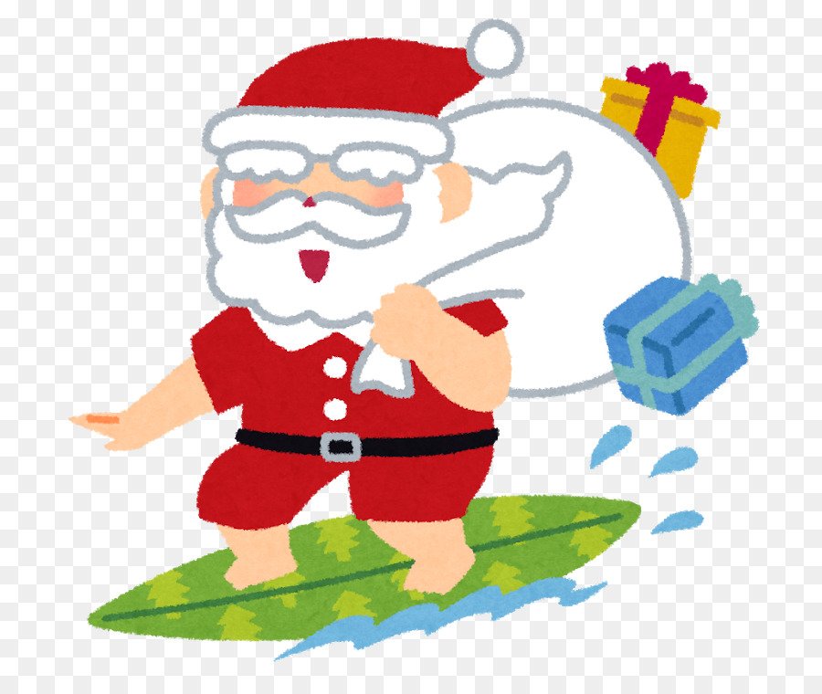 Christmas In Australia Cartoon.Christmas Santa Claus Png Download 800 750 Free