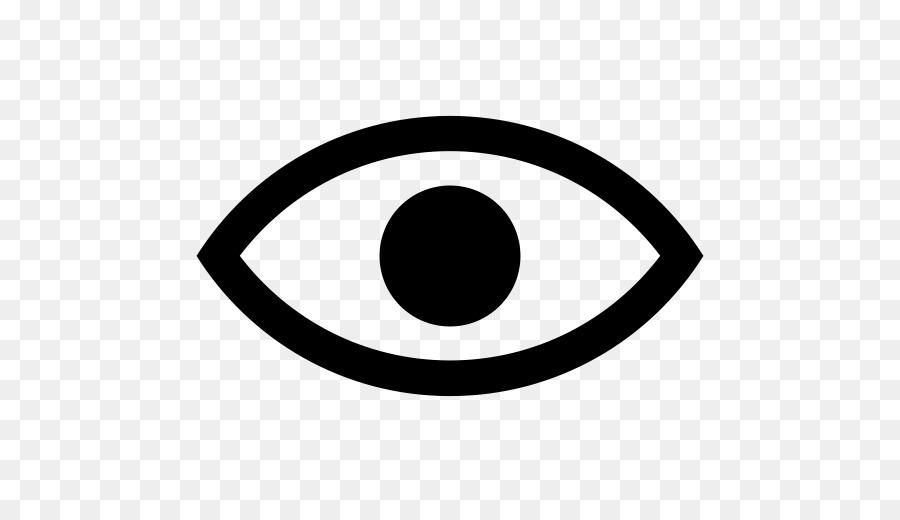 """Computer Icons """"Auge"""" Symbol - Auge png herunterladen - 512*512 - Kostenlos  transparent Schwarz png Herunterladen."""