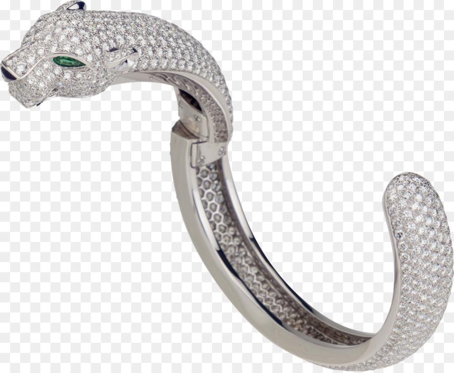 Cartier Armband Gold Diamant Smaragd Gold png