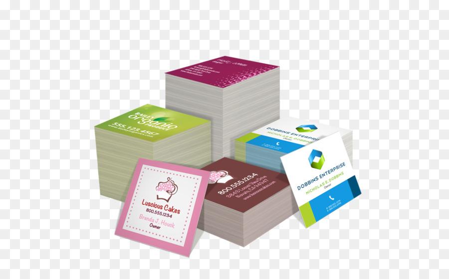 Drucken Visitenkarten Visitenkarte Flyer Business Png