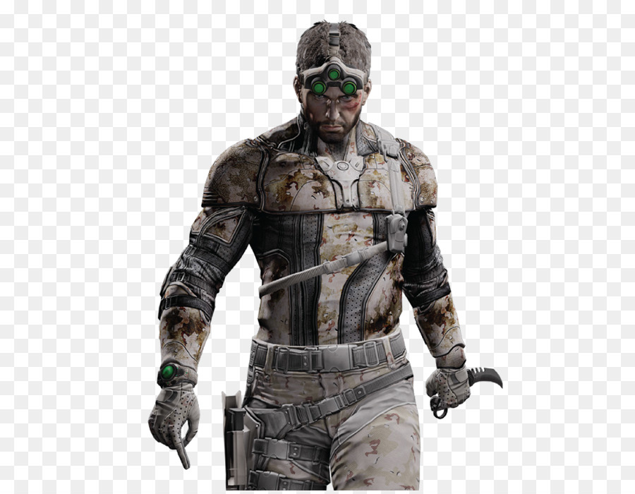 Sam Fisher In Tom Clancys Splinter Cell Blacklist Messer