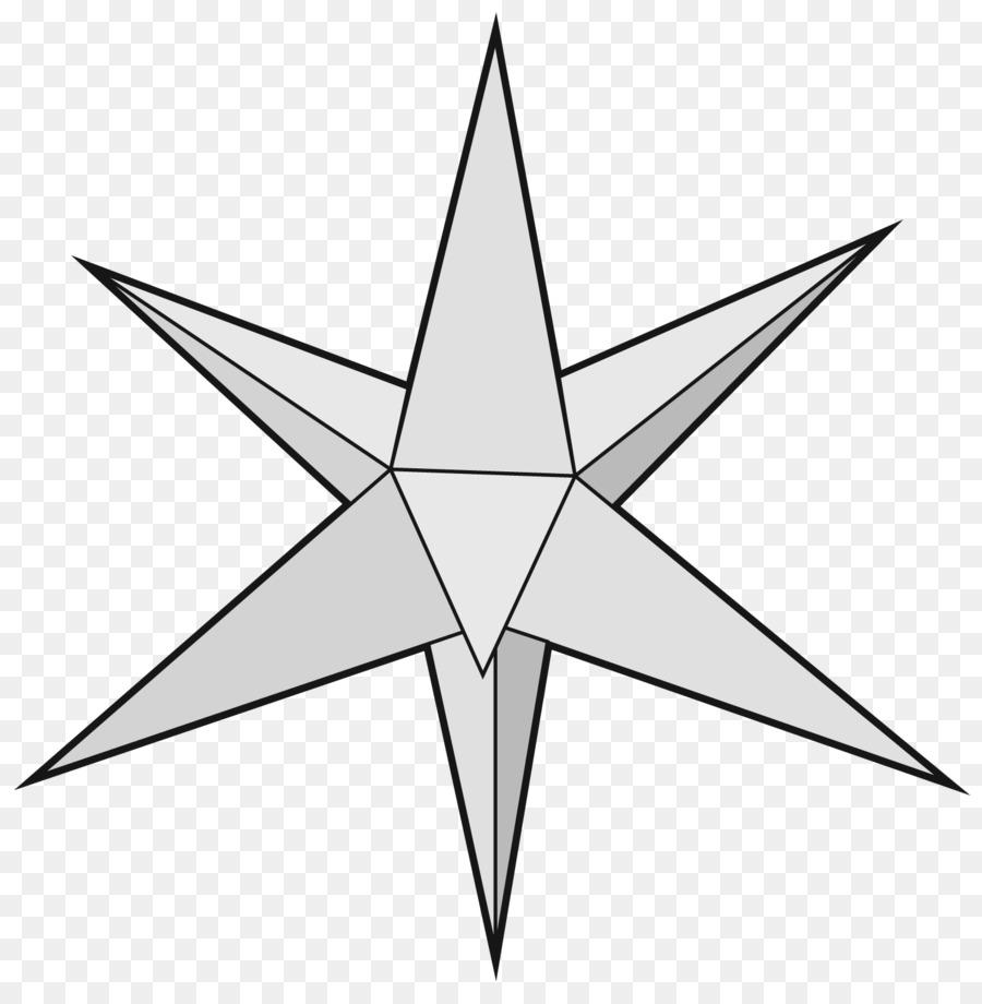 Stern Von Bethlehem Vorlage Weihnachten Ornament Papierstern Png