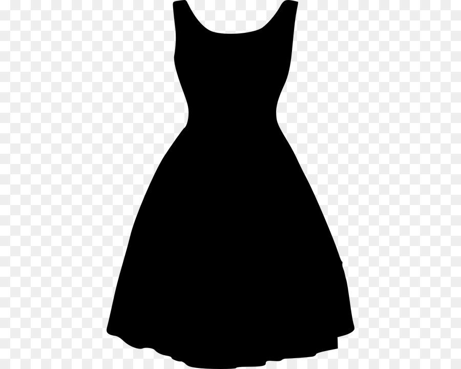 Kleine schwarze Kleid, Kleidung Clip art Kleid png