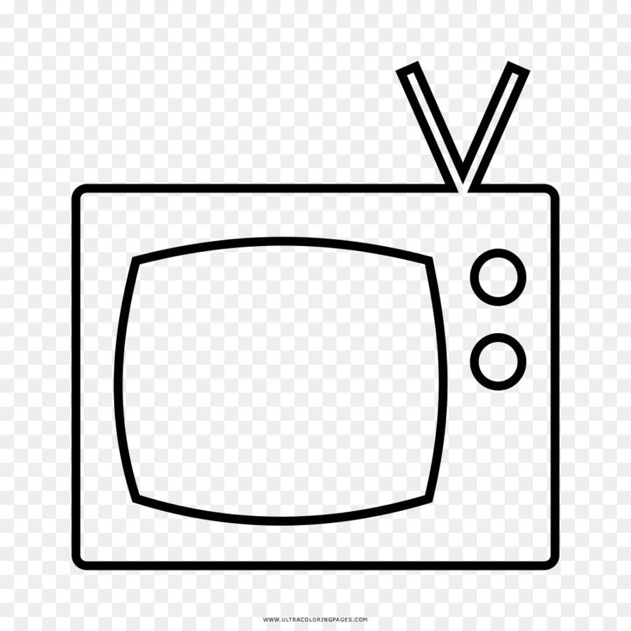 Disegno Televisione Da Colorare.La Televisione Di Disegno In Bianco E Nero Da Colorare Tv