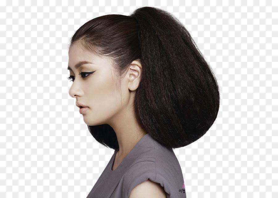 Jung So Min Lange Haare Schritt Schnitt Geschichteten Haar